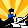 Tankman with Afro