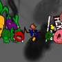 Vegetables vs. Candy by Iconock