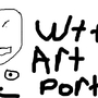 my reaction to the art portal by Gein