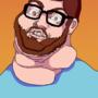 Adam as Egoraptor by Glumpybug