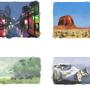 Enviroment Thumbnail Studies by Surfsideaaron