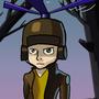 Pilot Helmet Boy by KobaStudios