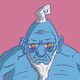 Blue Troll by EmuToons