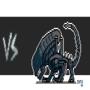 Predator vs Alien by ionrayner