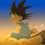 Kid Goku - Sunset Ride by LeeJayAnimation