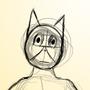 Fursona Sketch by Wesllley