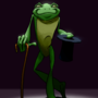 Gentleman Frog by mefesto