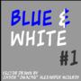Blue & White #1 - Gimp by JMac96