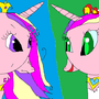 Cadence And Evil Cadence by Sweetpuppy76
