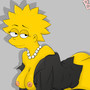 Secretary Lisa Simpson by BouncyCG