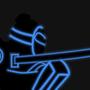 Samurai Neon by Wesllley
