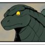 Good Guy Godzilla by xIZRAx