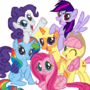 Mane six color swap by Sweetpuppy76