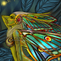 Old drawing - Fairy awakening