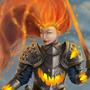 Fire Warror. by amejia1924