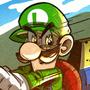 Luigi's Death Stare by geogant