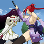 Fairy Tail - Erza vs Kagura by CrazyCreators