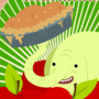 Tree Trunks' Apple Pies by Laggie