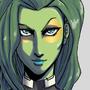 Gamora by Shadowblackfox