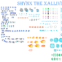 Shynx the Xallivian by tornade786