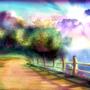 The Coastal Pathway by fxscreamer