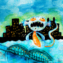 Monongahela River Monster by odditiesbyangela