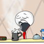 Evil Tea! by DoodlingHitman