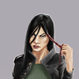 Asian girl by RimKeLLo