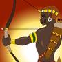 Memnon's Training by BrandonP