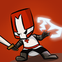 animated red knight