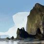 Haystack Rock by YakovlevArt