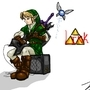 Link, chillin out by JukinS