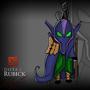 Cartoon Rubick DOTA2 by Aleksakia