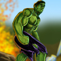 The Hulk by ImmaDrawOnYourFace