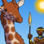 Egyptian Giraffe by BrandonP