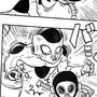 Akira Toriyama vs Freeza by RomeroComics