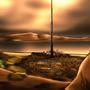 Dun Eideann at Sunset by Plette