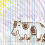 Crayon Cow by SuperLaserBeamPanda