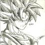 Goku SSJ by JukinS