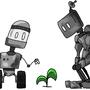 Robots t-shirt design by MaxRH