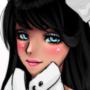 Cute Kitty Girl by CherryLolo
