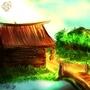 River village (speedpaint) by HSuits