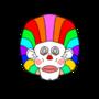 Afro Clown by Miroko