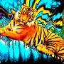 Triping Tiger (TT) by ZombieBoxHeadMan
