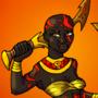 Goddess of War by BrandonP