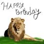 Birthday Lion