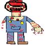 Zombie Mario by superbearman123