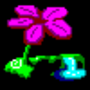 4 bit Flower by TheDyingSun