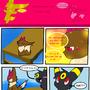 stupid short eevee comic by scruffyeevee
