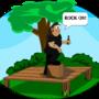 Chuck Rocks by selfdefiant
